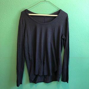 Dark Blue lululemon Long sleeve too